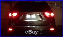 LED Rear Fog Light Conversion Kit For 11-up Jeep Grand CherokeeWk2, Compass, etc