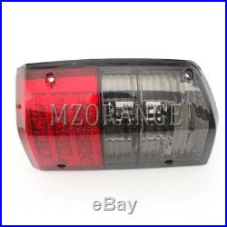 LED Rear Tail Light Lamp for Nissan Patrol GQ Y60 1988-1997 1 2 Series Red Black