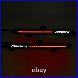 LED Reflector Tail Light for Honda Accord 2018 2019 2020 Rear Bumper Lamp Smoke