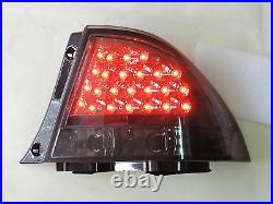 LED SMOKE Tail Lights Rear Lamp For IS200 IS300 1998 2005 Lexus ALTEZZA