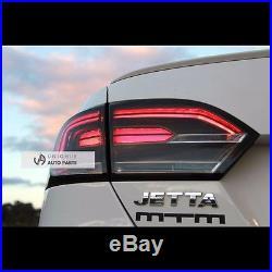 LED Smoke Type Tail Lights Rear Lamp For Volkswagen Jetta Mk6 20122015