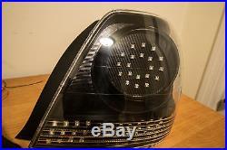 LED Sportcross Tail Lights Custom IS300 Gita OEM JDM Altezza Toyota Lexus Carbon