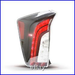 LED Tail Light For 2012-2015 Toyota PRIUS Left Right Set Upgrade Black