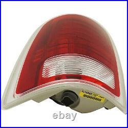 LED Tail Light for 2013-2016 Ram 1500 & 2500 & 3500 LH CAPA Chrome/Laramie Trim
