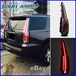 LED Tail Lights For 2015-2018 Chevrolet Tahoe Suburban Rear Lamp Escalade Style