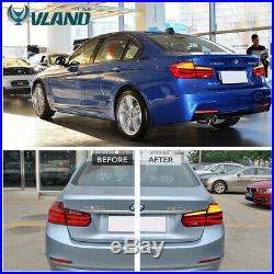 LED Tail Lights For BMW 3 Series F30 2012-2015 Sequential Indicator Rear Light