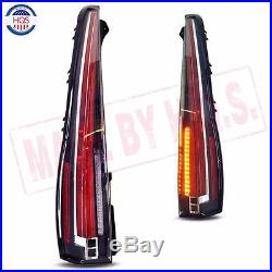 LED Tail Lights For CADILLAC ESCALADE / ESV 2007-2014 Rear Lamp 2015 2016 Model