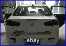 LED Tail Lights For Mitsubishi Lancer 2008-2017 EVO X Smoked 4Pcs Rear Lamp