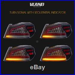 LED Tail Lights For Subaru WRX & Subaru WRX STI 2015-2019 Sequential Indicator