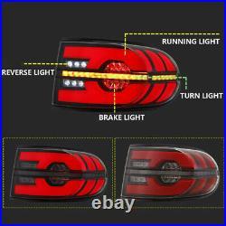 LED Tail Lights For Toyota FJ Cruiser 2007-2015 Rear Reverse Brake Lamp Assembly