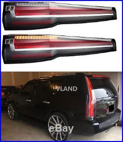 LED Tail Lights Rear For Tahoe GMC Yukon Chevy Chevrolet Suburban 2007-2014