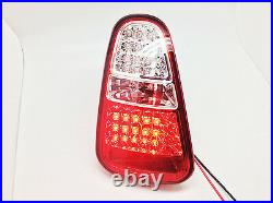 LED Tail Lights Rear Lamps W reverse For 04-06 Mini Cooper R50 R52 R53 Clear/Red