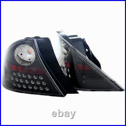 LED Taillight for 2001-2003 Honda Civic Coupe Black/Clear