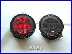LEXUS IS200 IS300 98-05 LED SMOKE Trunk Lights Smoke Rear ALTEZZA TIS4