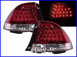 LEXUS IS200 IS300 99-05 LED Red Clear Tail Lights+Rear Trunk Led Lights ALTEZZA
