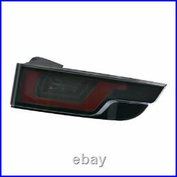 Land Range Rover Evoque Smoked LED Rear Tail Lights Brake Light Lamp Pair