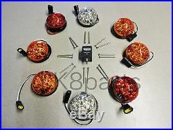 Land Rover Defender 90 / 110 Led Upgrade Lamps Kit 73 MM Led Style Light Ba 9719