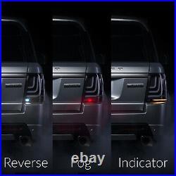 Land Rover Range Rover Sport 2005-2013 Led Glohh Gl-3x Dark Smoked Tail Lights