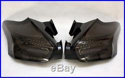 Led Bar Rückleuchten Heckleuchten Taillights Ford Focus Mk3 Face Smoke Schwarz