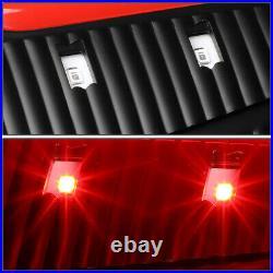 Led Red C-tube Barfor 09-17 Ram 1500 2500 3500 Tail Light Brake Lamps Black
