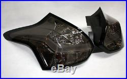 Led bar Rear Tail Lights Taillights Ford Focus Mk3 Dyb Smoke Black