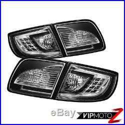 Left+Right BLACK LED Tail Light Brake Signal Lamp 04-09 MaZda 3 Sedan i/SP23/GT