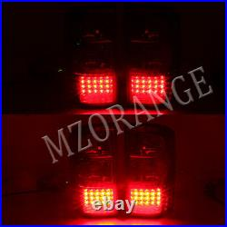 Left Right Side Black LED Rear Tail Light for Nissan Patrol GU Y61 12/1997-2004