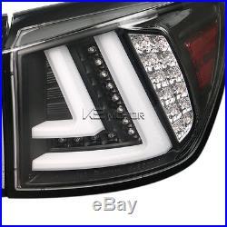 Lexus 2006-2008 IS250 IS350 JDM Black LED Rear Tail Brake Lights Pair