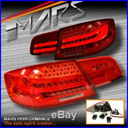 M3 LCI Style 3D Stripe Bar LED Tail Lights for BMW 3-Series E92 Coupe include M3