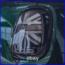 MINI Union Jack Black Tail Lights F55/ F56/ F57 One/ Cooper/ John Cooper Works