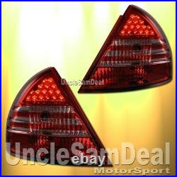 Mitsubishi Mirage Coupe Sedan Factory Look Red Lens Led Tail Lights Direct Fit