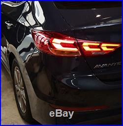 Mobis OEM LED Tail Lights (LH+RH) 4Pcs For Hyundai Elantra AD Sports 2017+