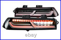 Morimoto XB LED Plug & Play Red Tail Light Assemblies For 2014-2015 Chevy Camaro