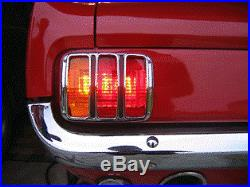 Mustang Amber Tail Light LED 64 65 66 Clicking Flasher No Wiring Mods Needed