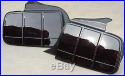 Mustang Smoked Tail lights OEM 05-09 Ford Tinted Black Factory Non Led