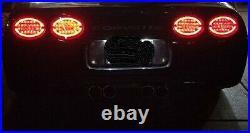 NEW 1997-2004 Corvette C5 Rear Halo LED Tail Lights (Taillight) Complete Set
