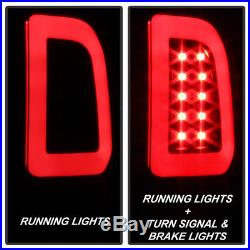 NEW Blk 1997-2003 Ford F150 99-07 F250 F350 SuperDuty LED Tube Tail Lights Lamps