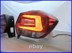 NEW LED Light Bar Red/Clear JDM Tail Lights For 12 13 1416 Subaru XV Crosstrek