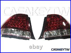 NEW LED RED/CLEAR Tail Lights Rear For LEXUS IS200 IS300 1998-2005 ALTEZZA