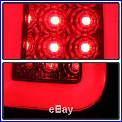 NEW Red 2008-2016 Ford F250 F350 F450 F550 LED Tube Tail Lights Lamps Left+Right
