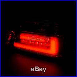New 3D Light Bar 92-98 BMW 3-Series 2Dr E36 Red/Smoke Lens LED Tail Lights