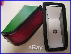 New Complete Tail Lights + Guards W Leds + Bulbs For 415 425 445 455 John Deere