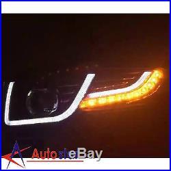 New For Toyota FJ Cruiser 2007-2014 LED Headlights + Tail Lights + Grille Set