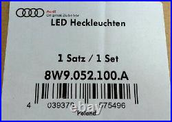 New Genuine Audi A4 S4 Rs4 B9 Avant Blackline Tinted Rear Led Tail Lights Set