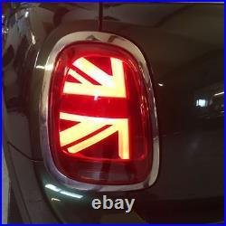 New Genuine Mini F55 F56 F57 Union Jack Uk Led Tail Lights Set L+r