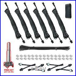 New Headlight & Tail Hid Led 6pc 24w Strobe Lights Kit