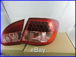 New Style Led Tail Light Lamps RED/ CLEAR For 2003 2004 05 06 07 Toyota Corolla