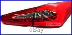OEM LED Tail Lights Lamp LH, RH 4Pcs 1Set For Kia All New Forte(K3) 20132015