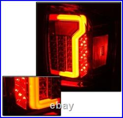 OE Factory Fit For 16-19 Toyota Tacoma LED DRL Light Bar Tail Lights Smoke
