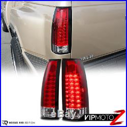 OE STYLE 88-98 Chevy Silverado Sierra CK 1500 2500 3RD Cargo LED Tail Light Red